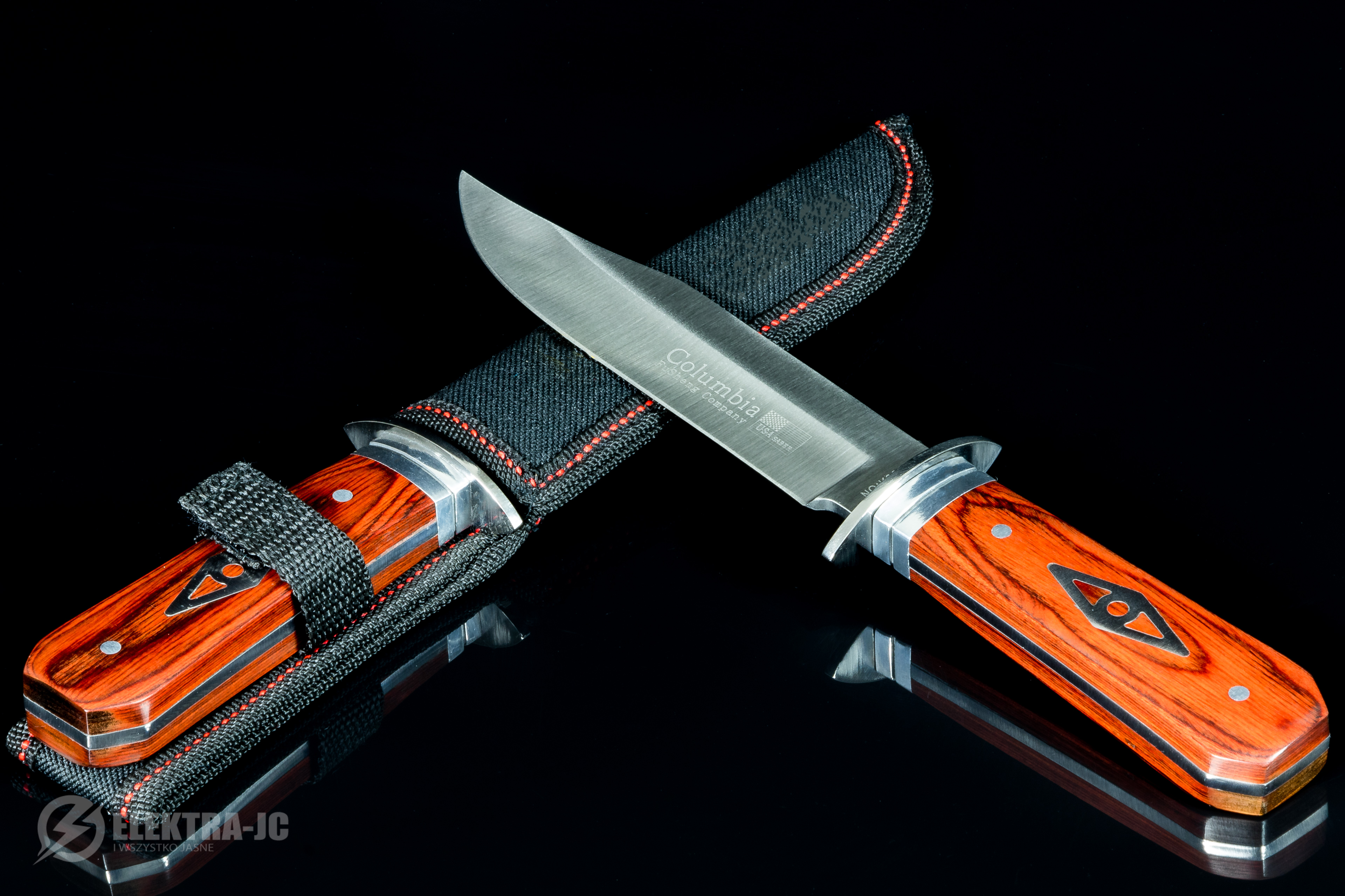 Details about Tourist hunting knife Columbia - NT117 - SURVIVAL KNIFE